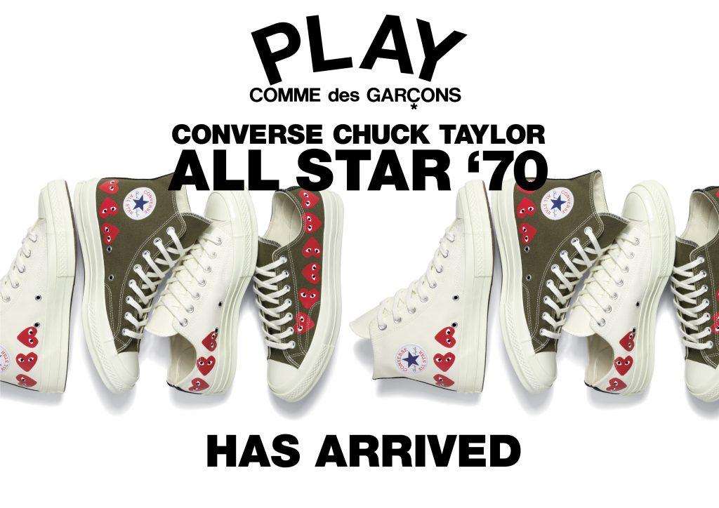 Comme Des Star Chuck All X Taylor Play Gar ons Converse '70 3R4Aj5L